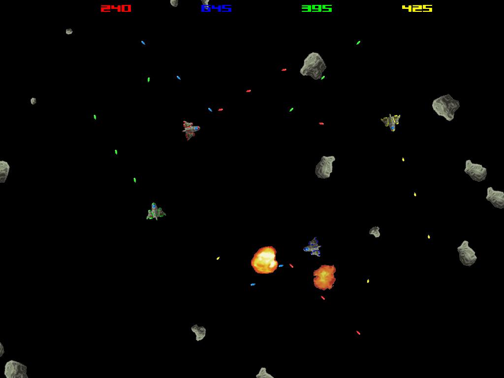 asteroids spielen